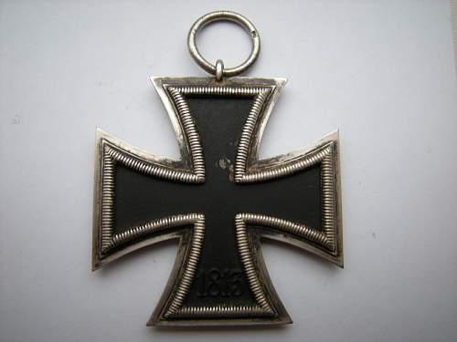 Eisernes Kreuz 2. Klasse, mm 6