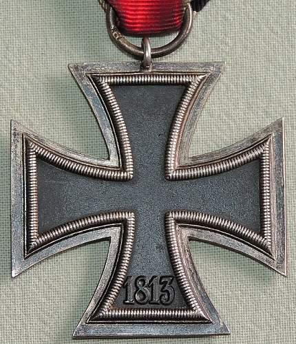 Eisernes Kreuz 2. Klasse - marked