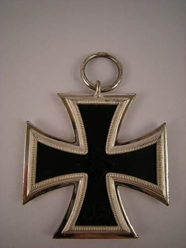 Eisernes Kreuz 2. Klasse, Marked  L/11, with LDO Case.