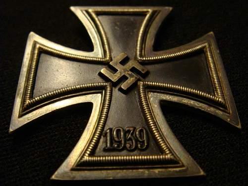 Eisernes Kreuz 1. Klasse L55 Rudolf Waechtler & Lange, Mittweida