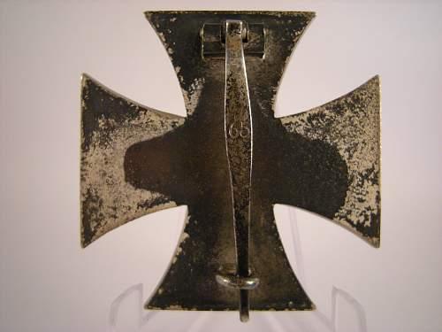 My first Eisernes Kreuz 1. Klasse, 65