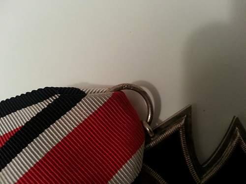 My Eisernes Kreuz 2nd Class+document+paperbag