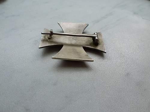 Eisernes Kreuz 1. Klasse - Zimmerman