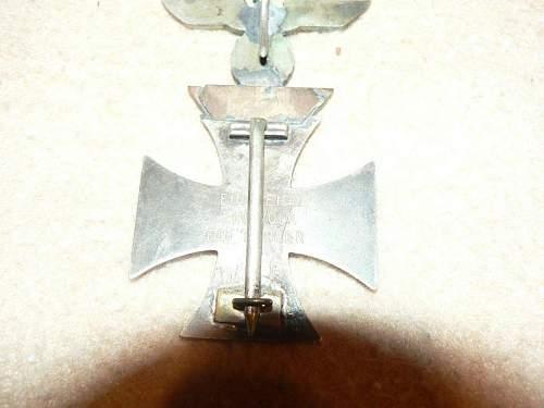 1939 Spange zum Eisernen Kreuzes 1er Klasse 1914 ??