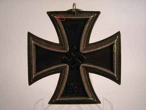 Eisernes Kreuz 2. Klasse, Marked 98