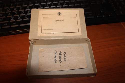 Paper box and envelope for KR?