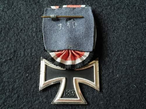 Eisernes Kreuz 2. Klasse, l/16 s&l