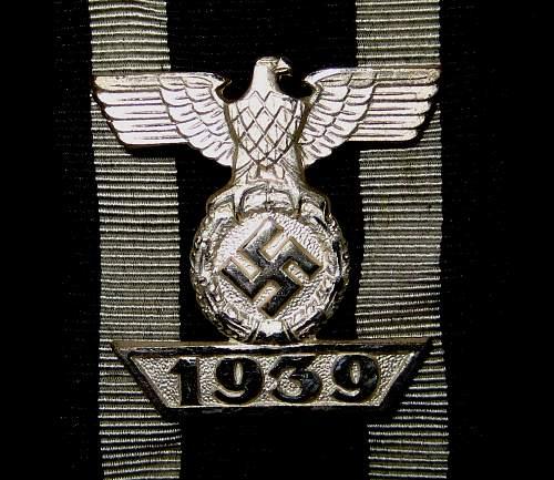 1939 Spange zum Eisernen Kreuzes 2er Klasse 1914, Unknown maker, Prinzen