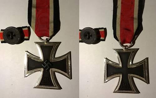 My Eisernes Kreuz 2. Klasse's arrived