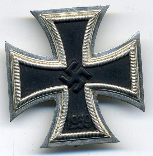 Eisernes Kreuz 1. Klasse, L/56 Funke u Brunninghaus?