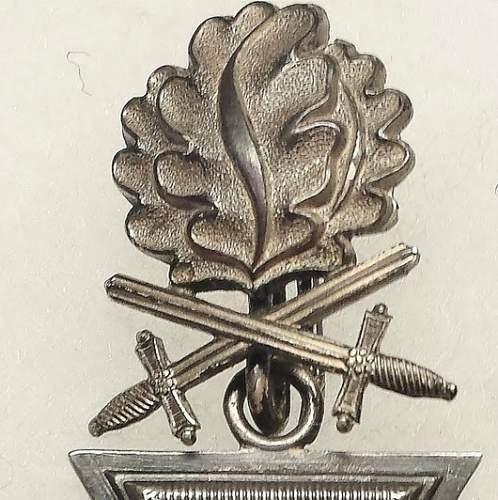 Ritterkreuz mit Eichenlaub und Schwertern