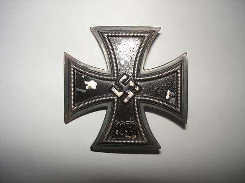 Unknown Eisernes Kreuz 1. Klasse