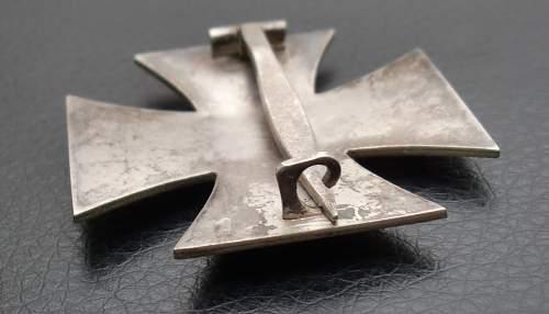 Eisernes Kreuz 1. Klasse, non magnetic