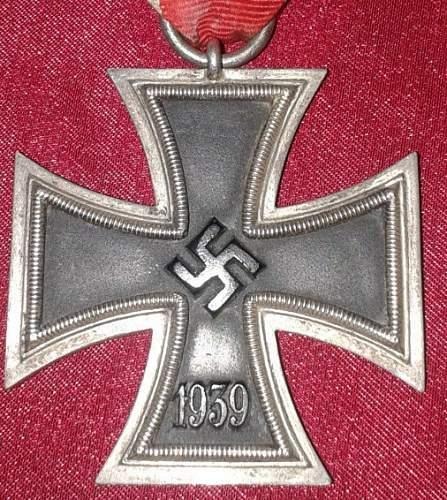 Eiserne Kreuz 2 class 1939 to ID