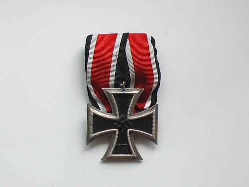 My Iron Crosses second class