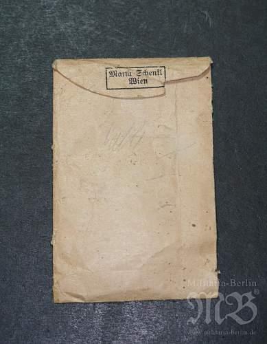 My unmarked EK II with paper bag