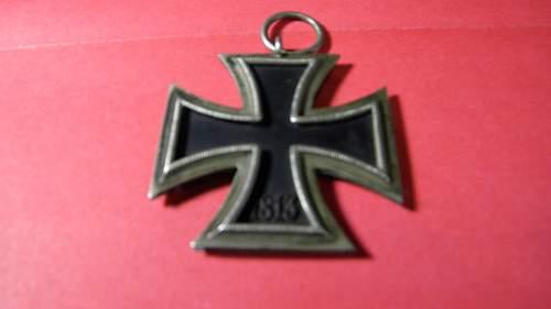 Eisernes Kreuz 2. Klasse -by Paul Meybauer Berlin?
