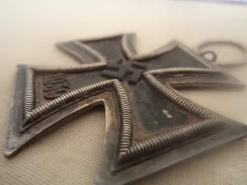 Eisernes Kreuz 2. Klasse - Injured