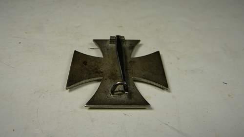 Eisernes Kreuz 1. Klasse real ?