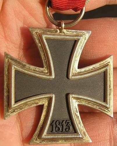 Eisernes Kreuz 2. Klasse, is this a real one?'