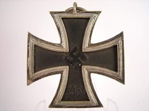 Eisernes Kreuz 2. Klasse, UM Otto Schickle