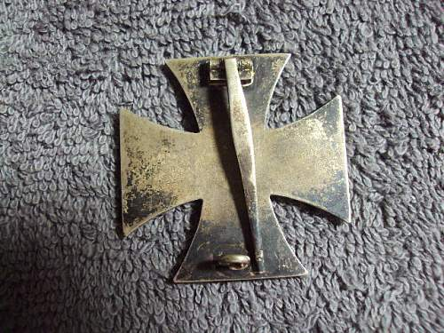 Eisernes Kreuz 1. Klasse maker ??