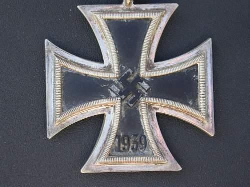 Eisernes Kreuz 2. Klasse Juncker