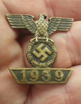 1939 spange  zum eisernen kreuz 2er Klassen 1914