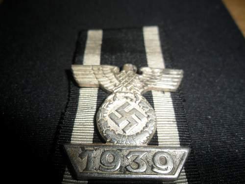 1939 Spange zum Eisernen Kreuzes 2er Klasse 1914 real or fake?