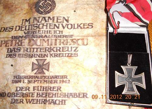 how much would a Ritterkreuz cost?