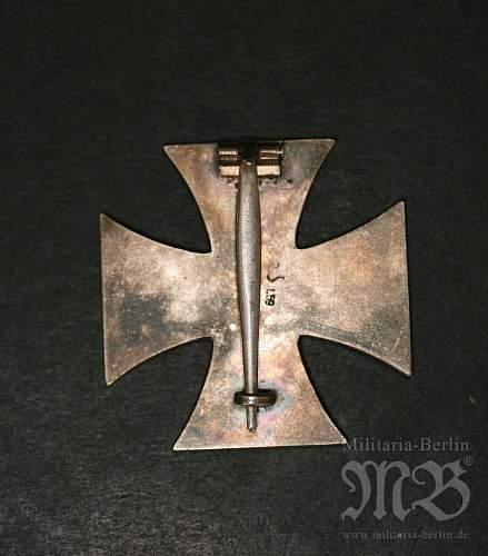 Eisernes Kreuz 1. Klasse L/59 check