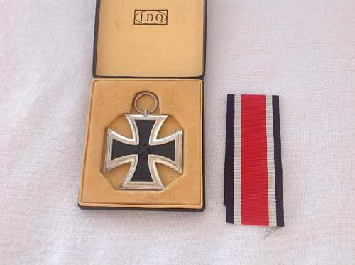 """Eisernes Kreuz 2. Klasse cased LDO """"MM13"""" Opinions"""