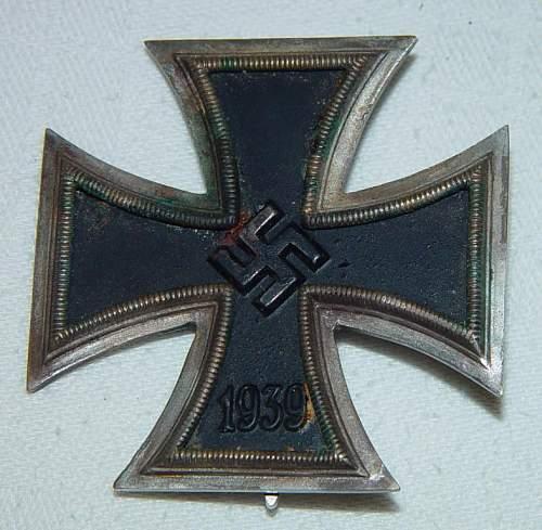Eisernes Kreuz 1. Klasse, is it original ?