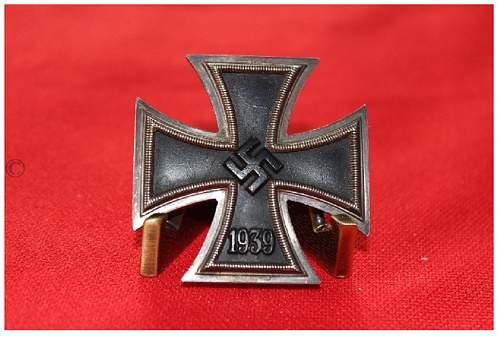 Eisernes Kreuz 1. Klasse original?