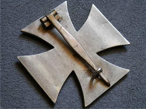Eisernes Kreuz 1. Klasse,