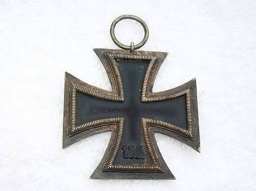Eisernes Kreuz 2. Klasse for review