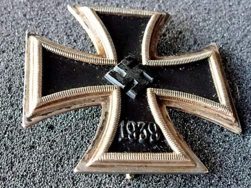 Eisernes Kreuz 1. Klasse MM '20'