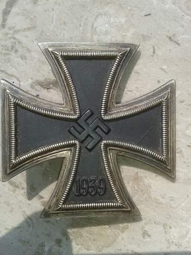 Eisernes Kreuz 1. Klasse Souval