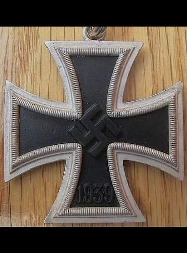 Ritterkreuz des Eisernen Kreuzes?