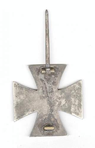 Eisernes Kreuz 1 Klasse L/19 - ask for help