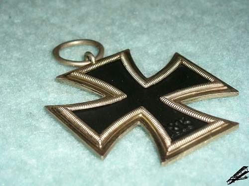 Eisernes Kreuz 2 Klasse Juncker marked 2 - ask for help