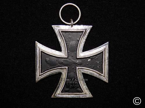 Eisernes Kreuz 2. Klasse non magnetic  Assmann