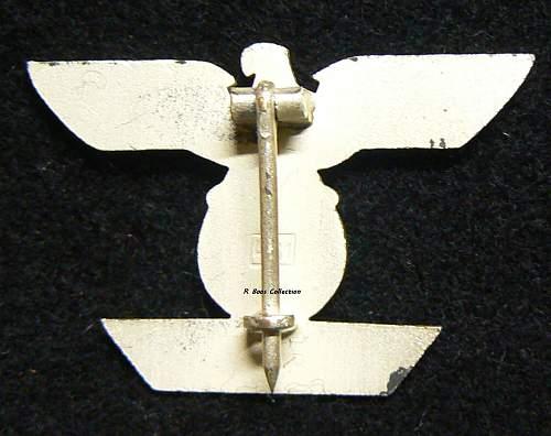 1939 Spange zum Eisernen Kreuzes 1er Klasse 1914, L/11, Wilhelm Deumer