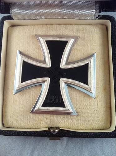 Eisernes Kreuz 1. Klasse, Russian horde, Mayer