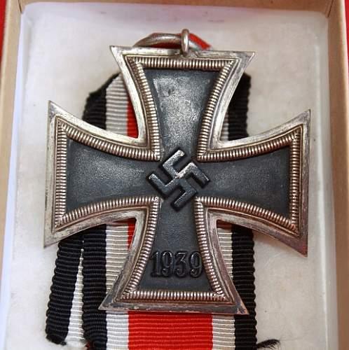Eisernes Kreuz 2. Klasse in LDO box