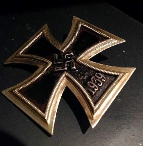 Maybauer Eisernes Kreuz 1. Klasse, mm7