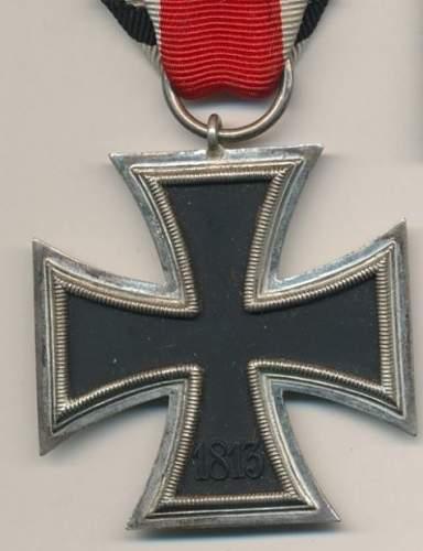 Eisernes Kreuz 2. Klasse - unmarked Deumer?