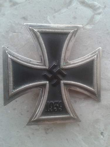 Eisernes kreuz 1.klasse Rettenmaier