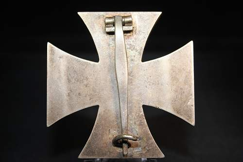 Eisernes Kreuz 1. Klasse Manufacture?
