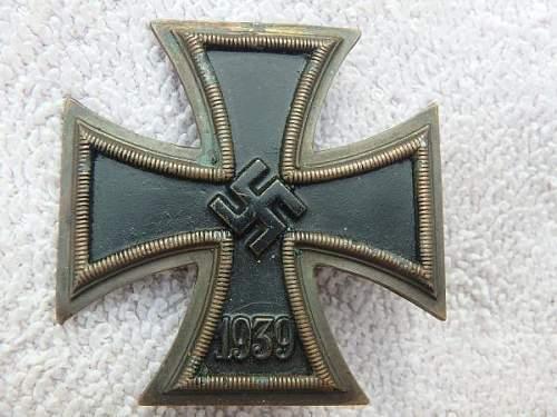 Eisernes Kreuz 1. Klasse, opinions please?